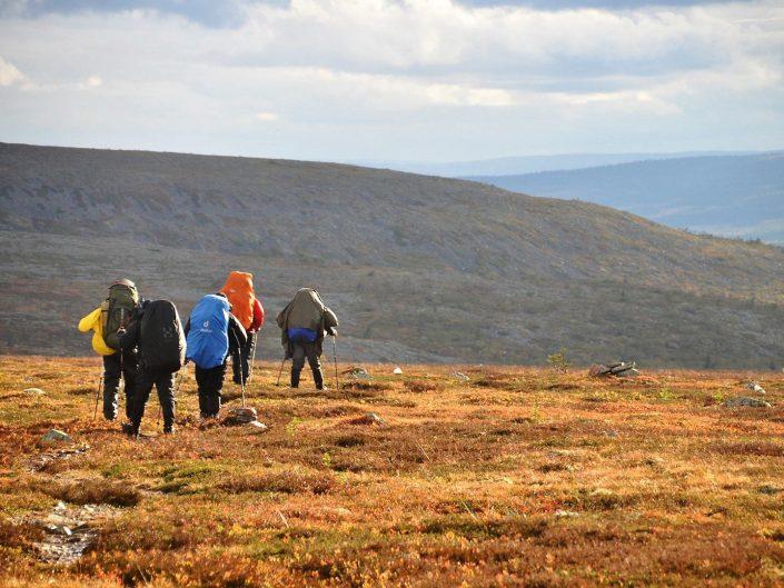 Wildnis-Trekking-Tour für Männer
