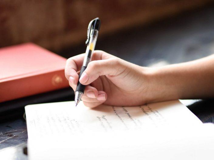 Schreiblounge