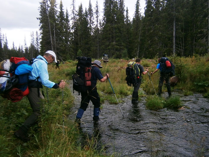 7-Wildnis-Trekking-Tour für Männer